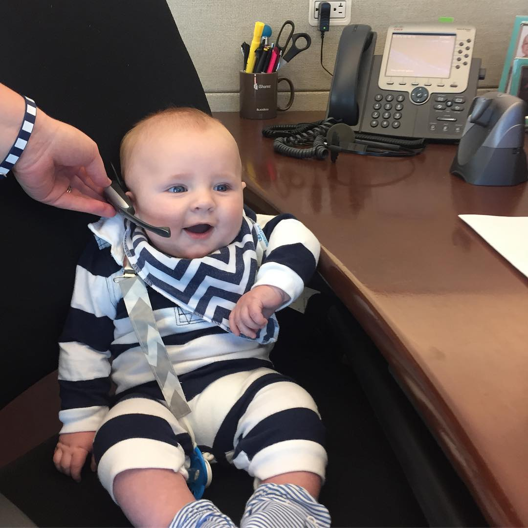 Our son the derivatives trader #babykinsrice
